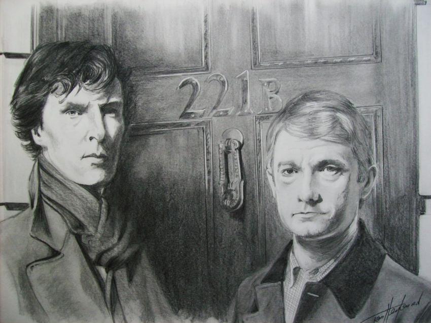 Sherlock Holmes por Tom-Heyburn